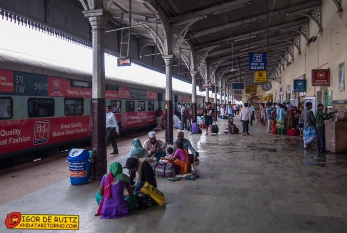 La stazione dei treni di Ajmer