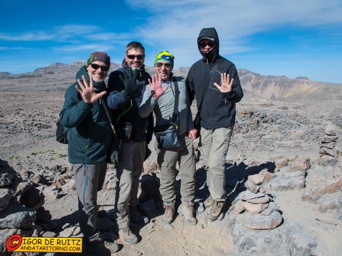 Mirador de los Andes: 5000 metri s.l.m.