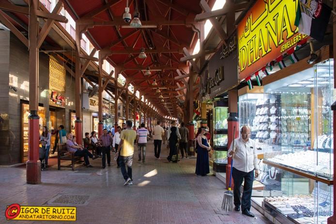 Il mercato dell'oro di Dubai