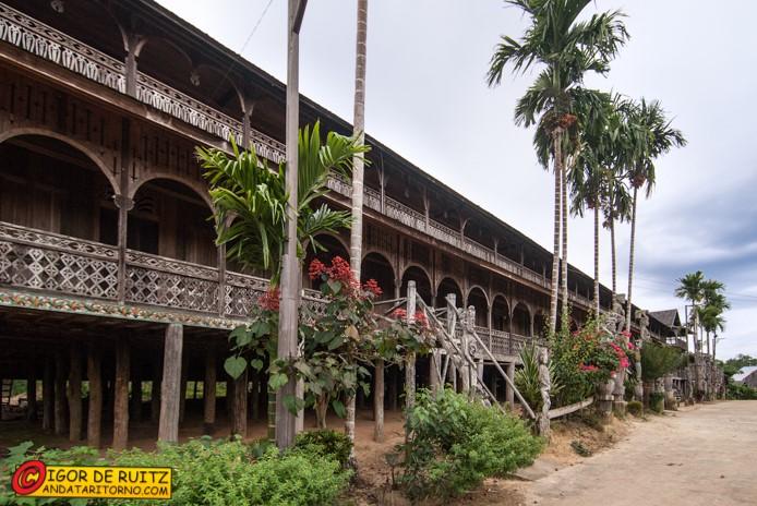 Longhouse di Mancong