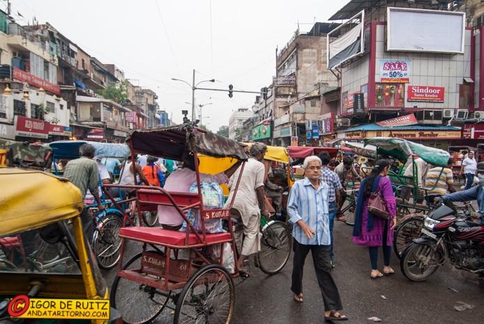 Il traffico di New Delhi