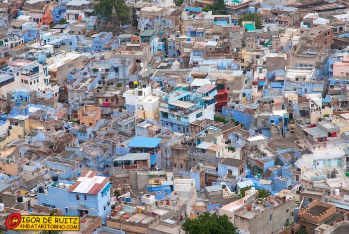 Jodhpur la città azzurra