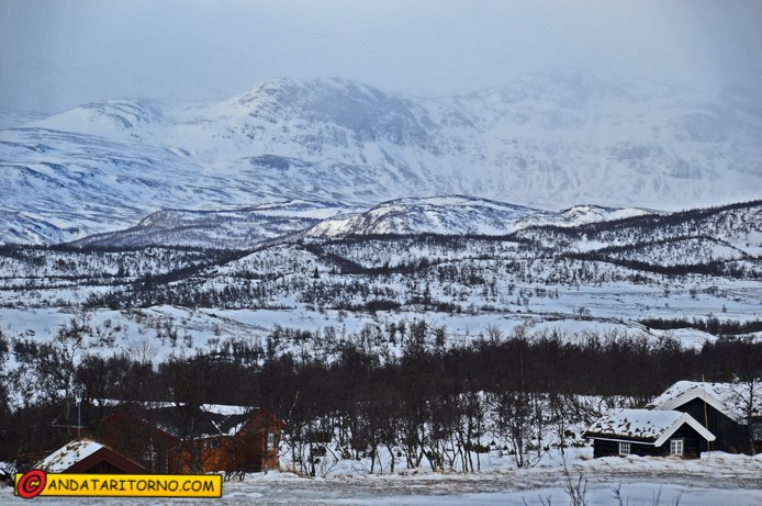 Vista dello Jotunheimen da Beitostølen