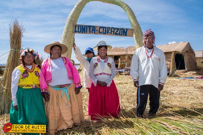 Islas Uros (lago Titicaca)