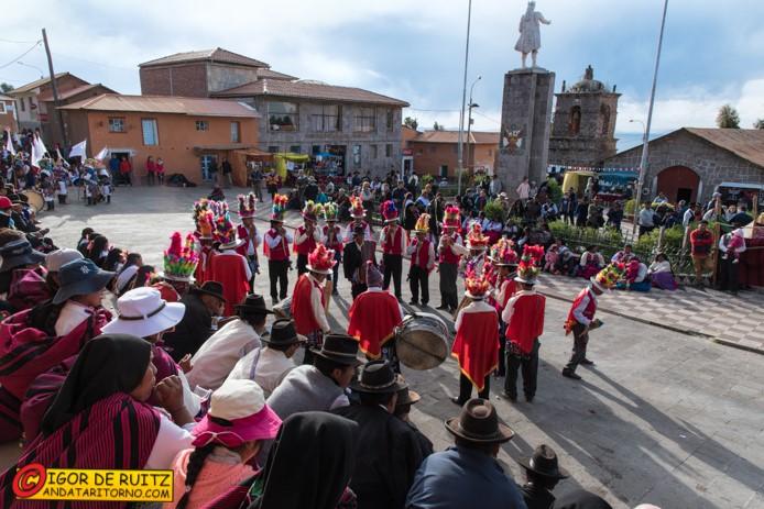 Isla Amantanì (lago Titicaca)