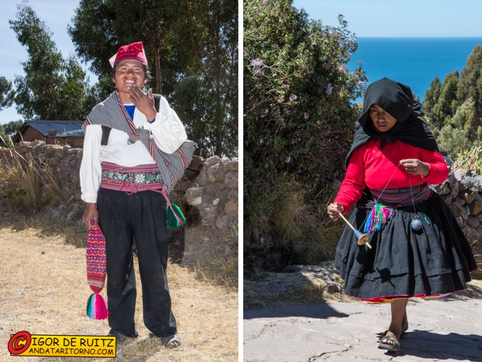 Isla Taquile (lago Titicaca)