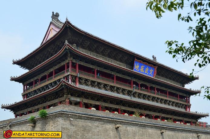 Pagoda del Tamburo a Xi'an