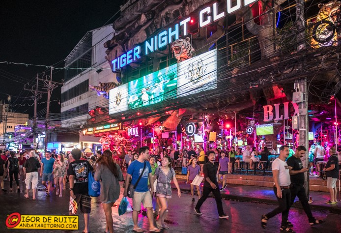 La Bangla Road a Patong