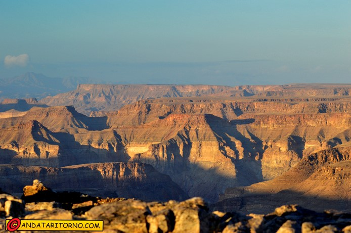 Alba sul Fish River Canyon