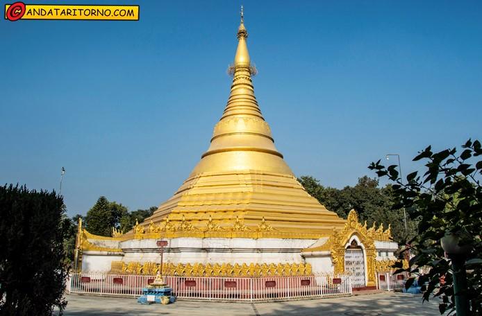 Il Tempio d'oro a Lumbini